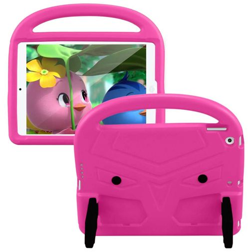 Productafbeelding van de Just in Case Kidscase Stand Cover Pink Apple iPad 2019/iPad 2020
