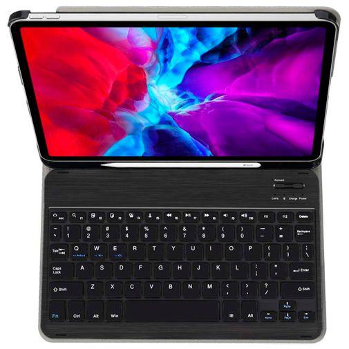 Productafbeelding van de Just in Case Premium Bluetooth Keyboard Case Black Apple iPad Pro 2020 11