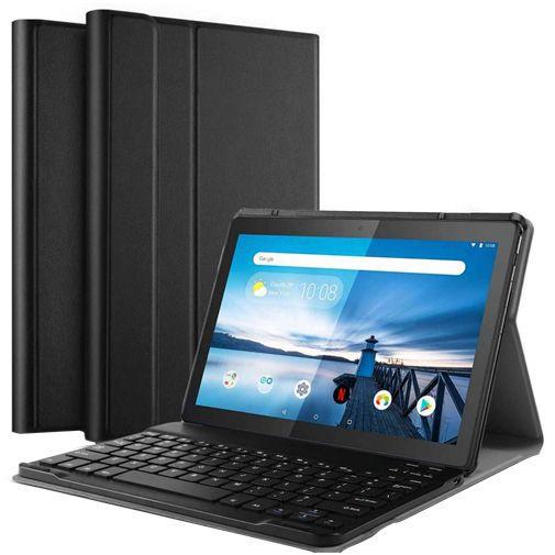 Productafbeelding van de Just in Case Premium Bluetooth Keyboard Case Black Lenovo Tab M10