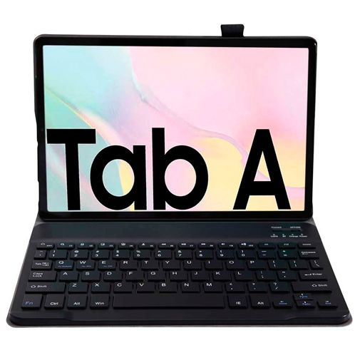 Productafbeelding van de Just in Case Premium Bluetooth Keyboard Case Black Samsung Galaxy Tab A7