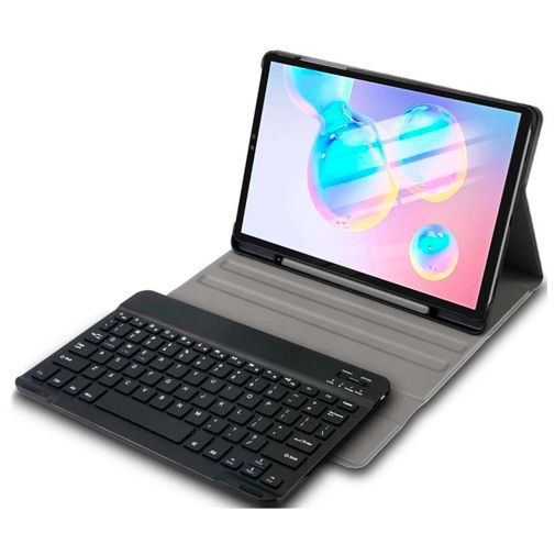 Productafbeelding van de Just in Case Premium Bluetooth Keyboard Case Black Samsung Galaxy Tab S6