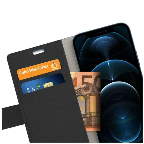 Productafbeelding van de Just in Case PU-leer Book Case Zwart Apple iPhone 12/12 Pro