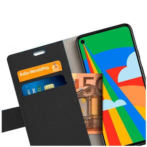 Productafbeelding van de Just in Case PU-leer Book Case Google Pixel 5 Zwart