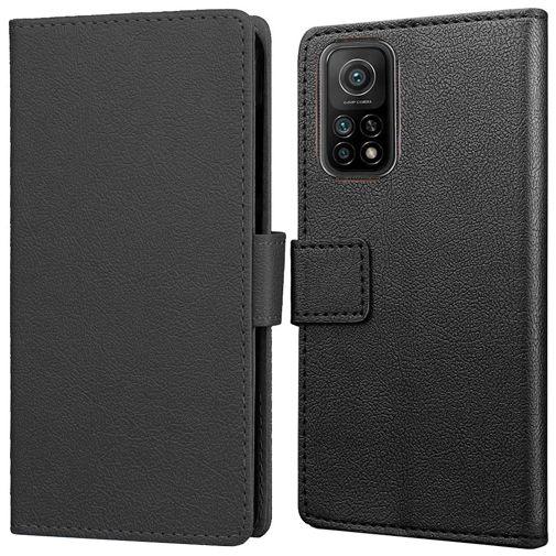 Productafbeelding van de Just in Case PU-leer Book Case Zwart Xiaomi Mi 10T/10T Pro