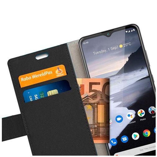 Productafbeelding van de Just in Case PU-leer Book Case Zwart Nokia 2.4