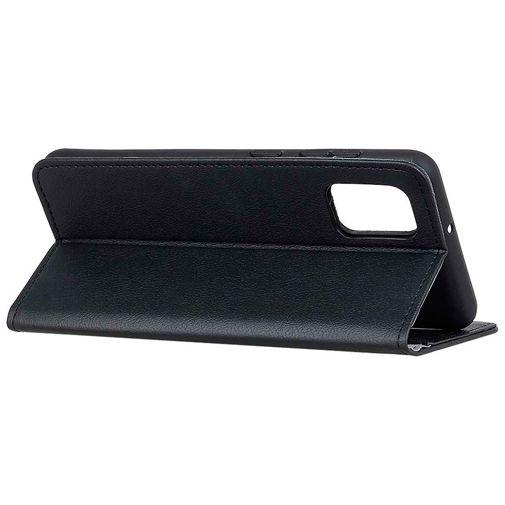 Productafbeelding van de Just in Case PU-leer Book Case Zwart OnePlus 8T