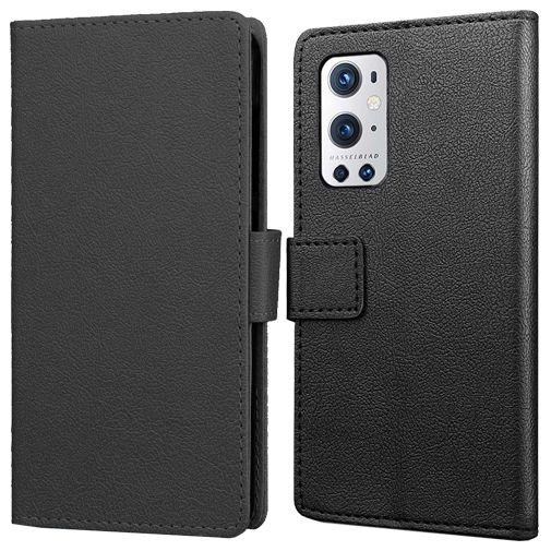 Productafbeelding van de Just in Case PU-leer Book Case Zwart OnePlus 9 Pro
