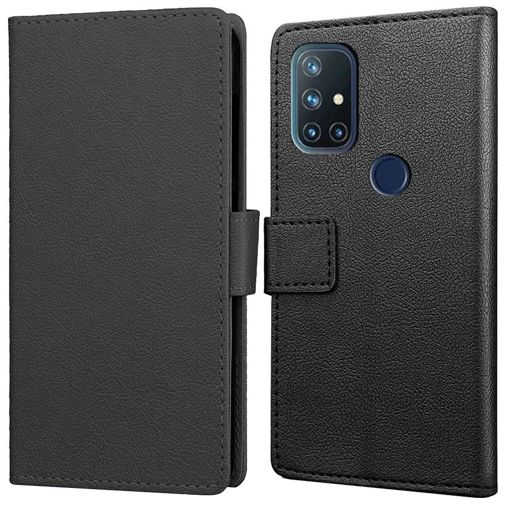 Productafbeelding van de Just in Case PU-leer Book Case Zwart OnePlus Nord N10