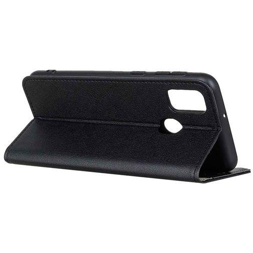 Productafbeelding van de Just in Case PU-leer Book Case Zwart Oppo A53/A53s
