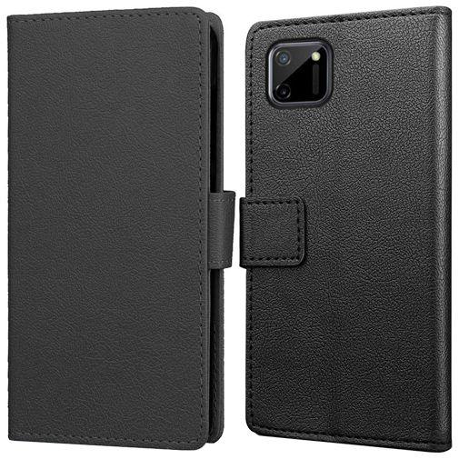 Productafbeelding van de Just in Case PU-leer Book Case Zwart Realme C11