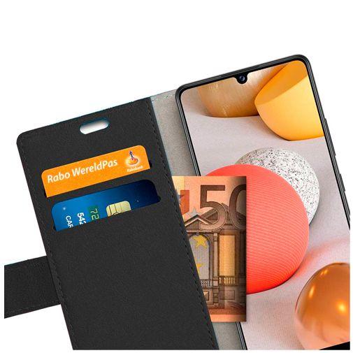 Productafbeelding van de Just in Case PU-leer Book Case Zwart Samsung Galaxy A42 5G