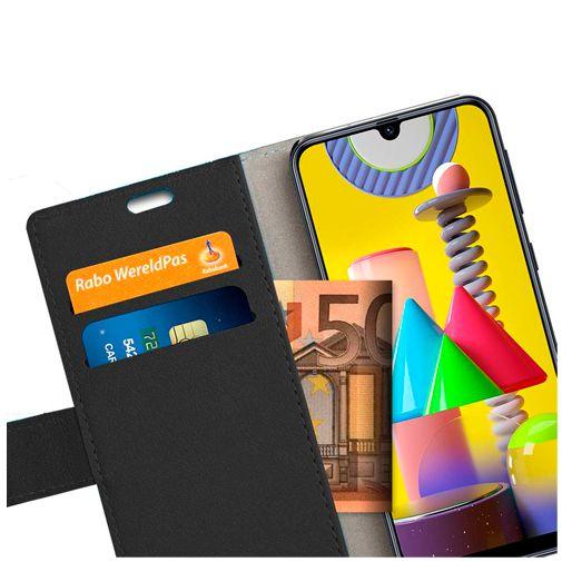 Productafbeelding van de Just in Case PU-leer Book Case Zwart Samsung Galaxy M31