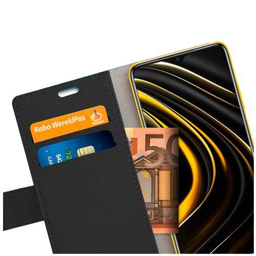 Productafbeelding van de Just in Case PU-leer Book Case Zwart Xiaomi Poco M3