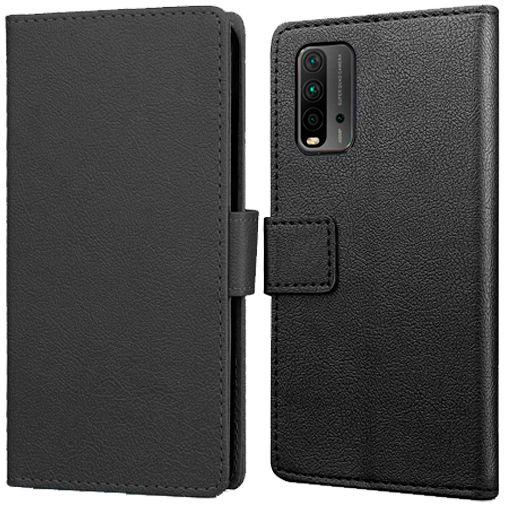 Productafbeelding van de Just in Case PU-leer Book Case Zwart Xiaomi Redmi 9T
