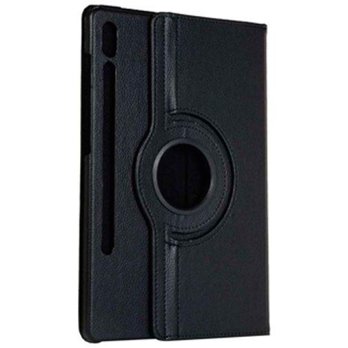 Productafbeelding van de Just in Case Rotating 360 Case Black Samsung Galaxy Tab S7+