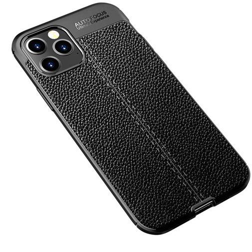 Productafbeelding van de Just in Case Rugged TPU Back Cover Zwart Apple iPhone 12 Pro Max