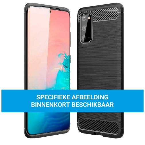 Productafbeelding van de Just in Case Rugged TPU Back Cover Zwart Oppo Find X3 Lite