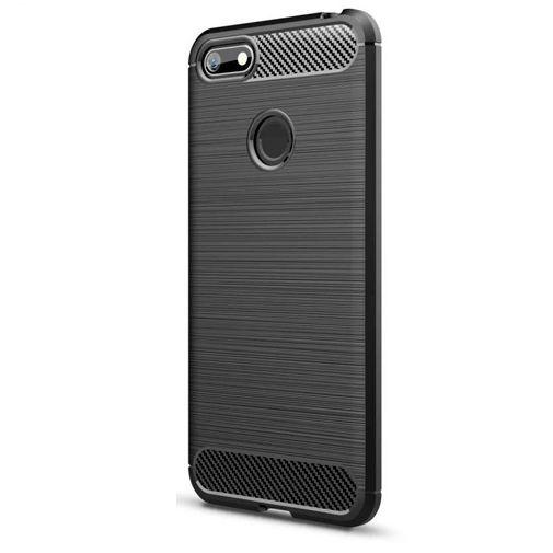 Productafbeelding van de Just in Case Rugged TPU Case Black Motorola Moto E6 Play