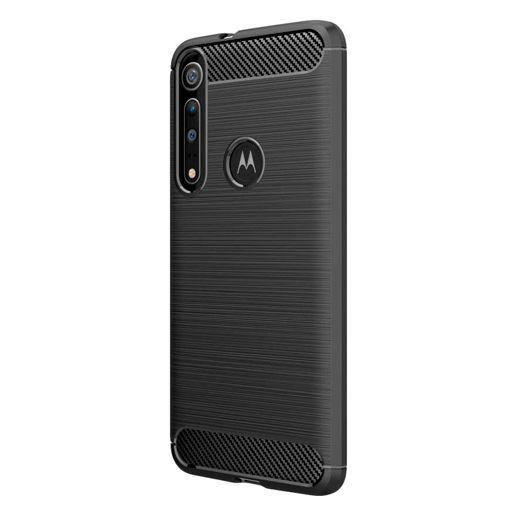 Produktimage des Just in Case Rugged TPU Case Schwarz Motorola One Macro
