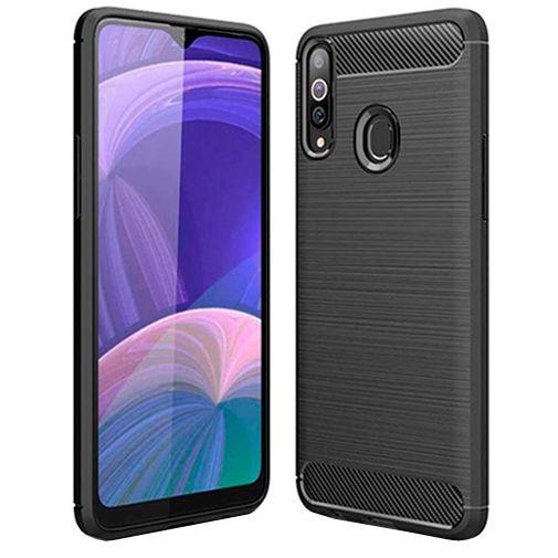 Productafbeelding van de Just in Case Rugged TPU Case Black Samsung Galaxy A20s