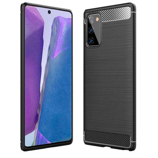 Productafbeelding van de Just in Case Rugged TPU Case Black Samsung Galaxy Note 20 Ultra