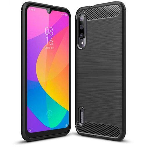Productafbeelding van de Just in Case Rugged TPU Case Black Xiaomi Mi A3