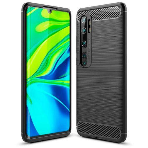 Productafbeelding van de Just in Case Rugged TPU Case Black Xiaomi Mi Note 10/Note 10 Pro