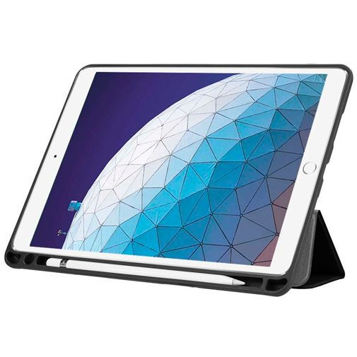 Productafbeelding van de Just in Case Smart Tri-Fold Case Zwart Apple iPad Air 2019