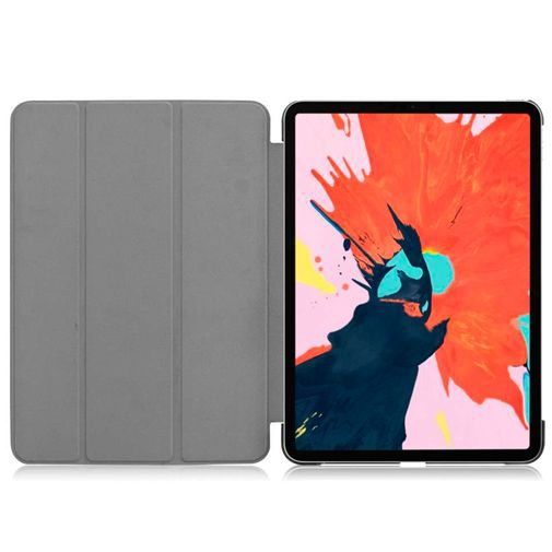 Productafbeelding van de Just in Case Smart Tri-Fold Case Black Apple iPad Pro 2018 12.9