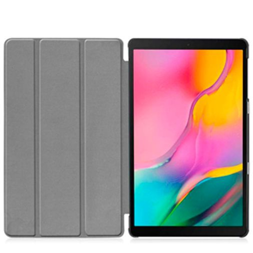 Produktimage des Just in Case Smart Tri-Fold Case Schwarz Samsung Galaxy Tab A 10.1 (2019)