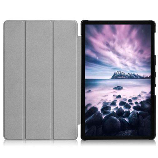 Productafbeelding van de Just in Case Smart Tri-Fold Case Black Samsung Galaxy Tab A 10.5 (2018)