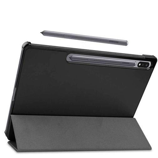 Productafbeelding van de Just in Case Smart Tri-Fold Case Black Samsung Galaxy Tab S7+
