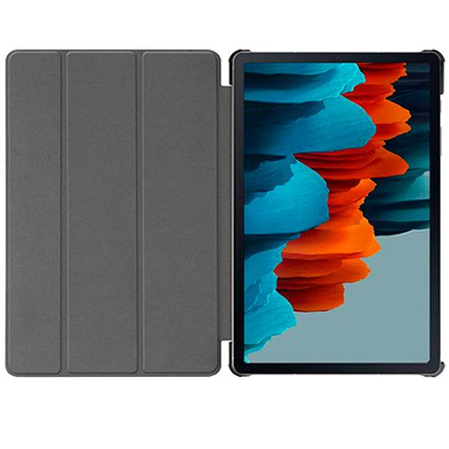 Productafbeelding van de Just in Case Smart Tri-Fold Case Black Samsung Galaxy Tab S7