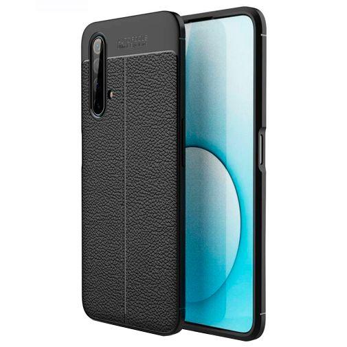 Productafbeelding van de Just in Case Soft TPU Back Cover Zwart Realme X50