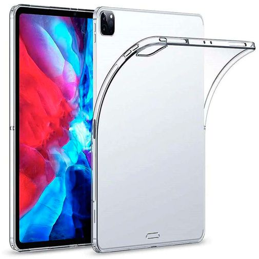 Productafbeelding van de Just in Case Soft TPU Case Clear Apple iPad Pro 2020 12.9