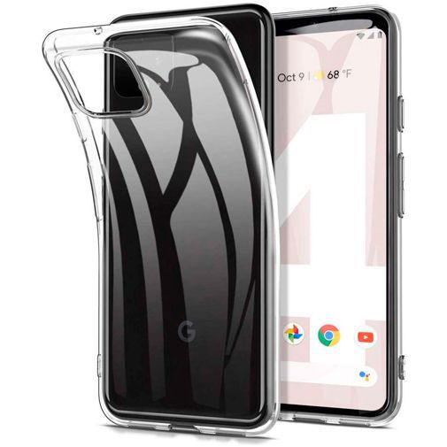 Produktimage des Just in Case Soft TPU Case Clear Google Pixel 4
