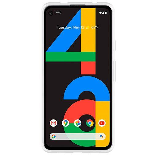 Productafbeelding van de Just in Case Soft TPU Case Clear Google Pixel 4a