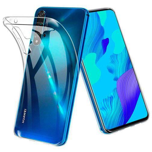 Productafbeelding van de Just in Case Soft TPU Case Clear Huawei Nova 5T