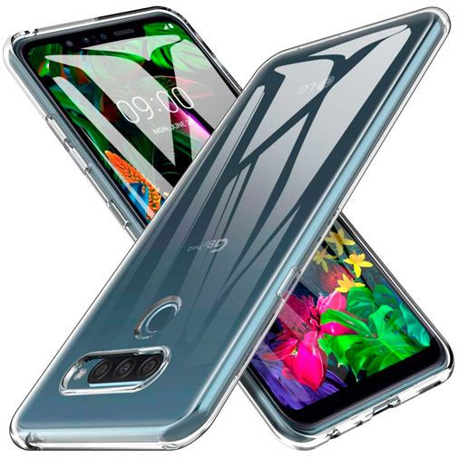 Productafbeelding van de Just in Case Soft TPU Case Clear LG G8s ThinQ