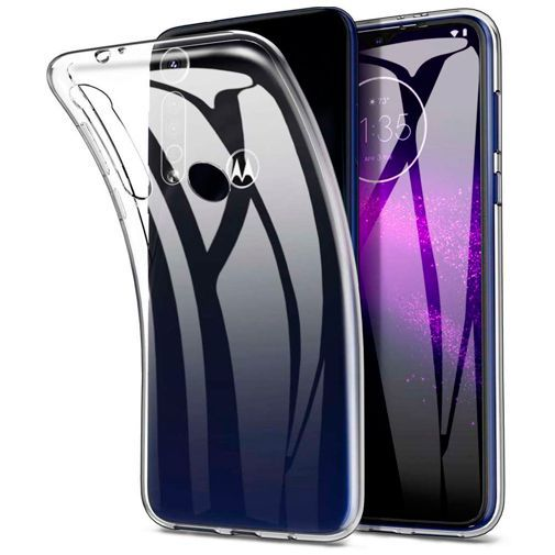 Productafbeelding van de Just in Case Soft TPU Case Clear Motorola Moto G8 Plus