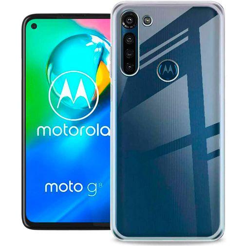 Productafbeelding van de Just in Case Soft TPU Case Clear Motorola Moto G8