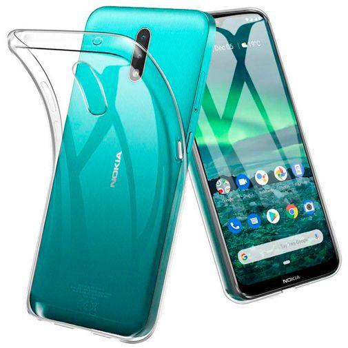 Productafbeelding van de Just in Case Soft TPU Case Clear Nokia 2.3