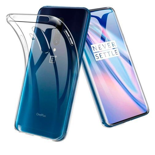 Productafbeelding van de Just in Case Soft TPU Case Clear OnePlus 7T Pro