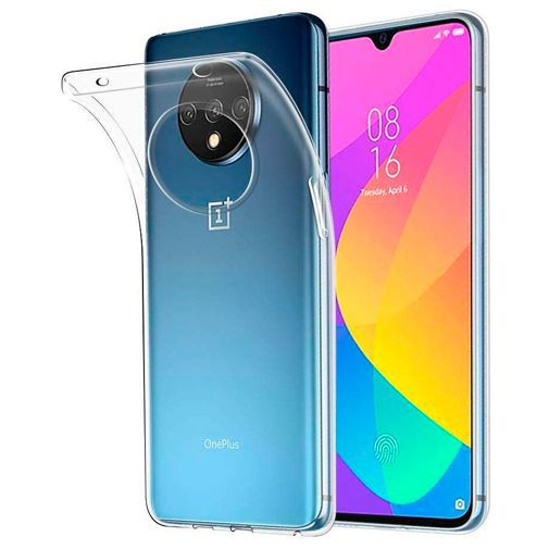 Produktimage des Just in Case Soft TPU Case Clear OnePlus 7T