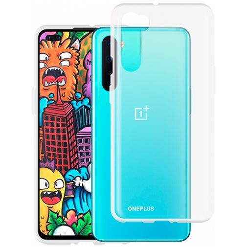 Productafbeelding van de Just in Case Soft TPU Case Clear OnePlus Nord