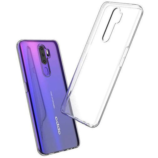 Productafbeelding van de Just in Case Soft TPU Case Clear Oppo A5 (2020)
