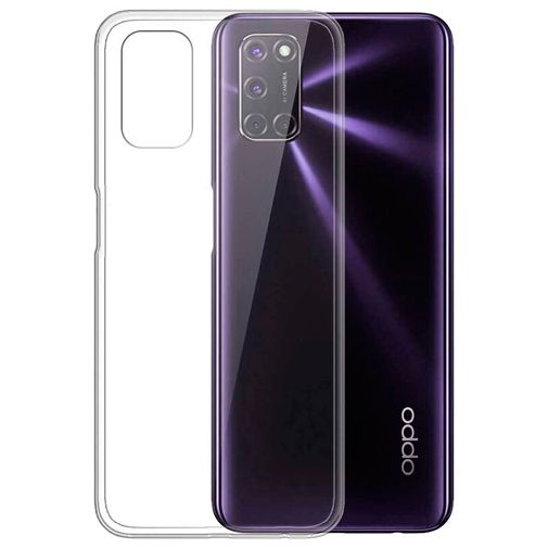 Productafbeelding van de Just in Case Soft TPU Case Clear Oppo A52