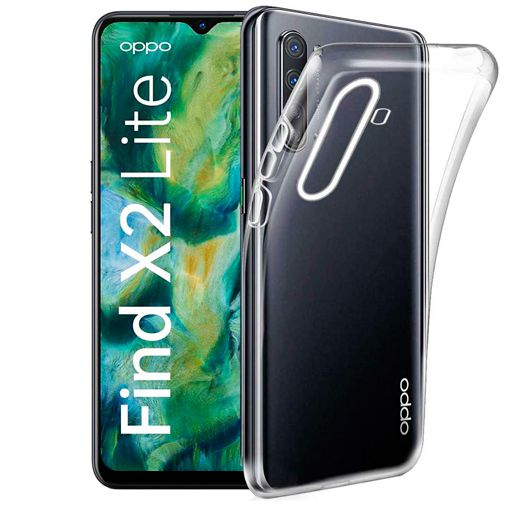 Productafbeelding van de Just in Case Soft TPU Case Clear Oppo Find X2 Lite