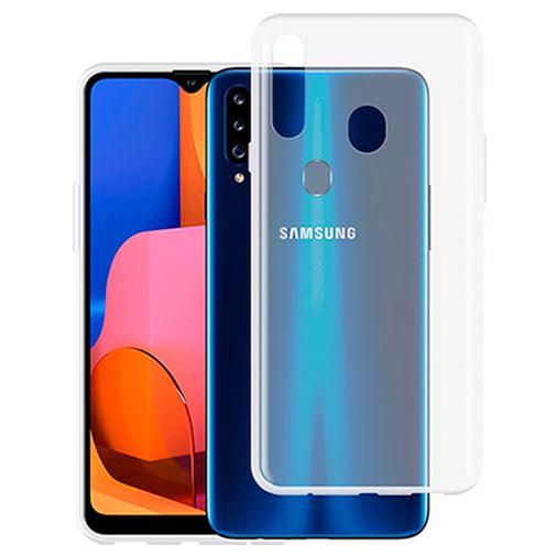 Productafbeelding van de Just in Case Soft TPU Case Clear Samsung Galaxy A20s