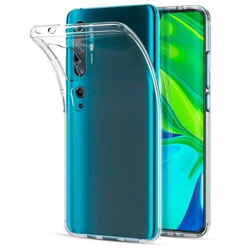 Produktimage des Just in Case Soft TPU Case Clear Xiaomi Mi Note 10/Note 10 Pro